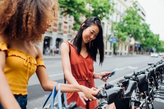 electrification of transportation - e-bike rental
