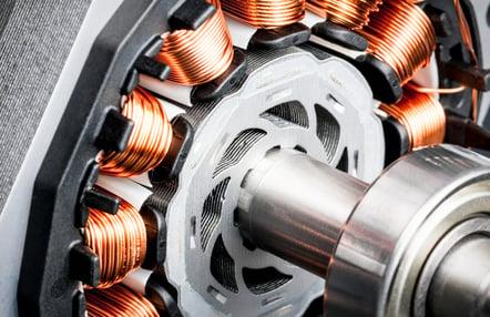 electric motor design radial flux motor