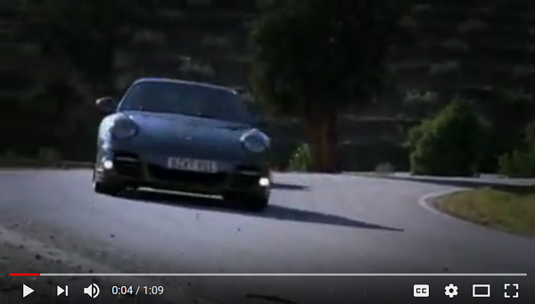 porsche video screenshot engine mounting system