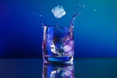 powder metallurgy and sintering processes - glass of ice water